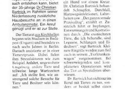 2005 - Hausbesuche